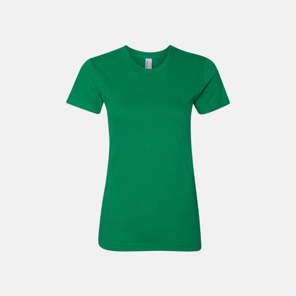 Kelly Green (dam) Unisex & dam t-shirts med reklamtryck