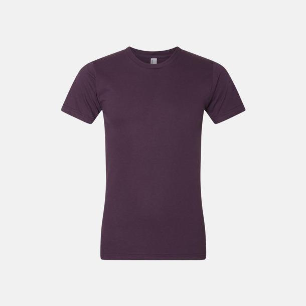Eggplant (unisex) Unisex & dam t-shirts med reklamtryck