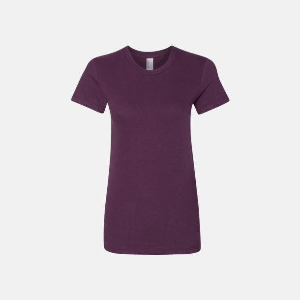 Eggplant (dam) Unisex & dam t-shirts med reklamtryck