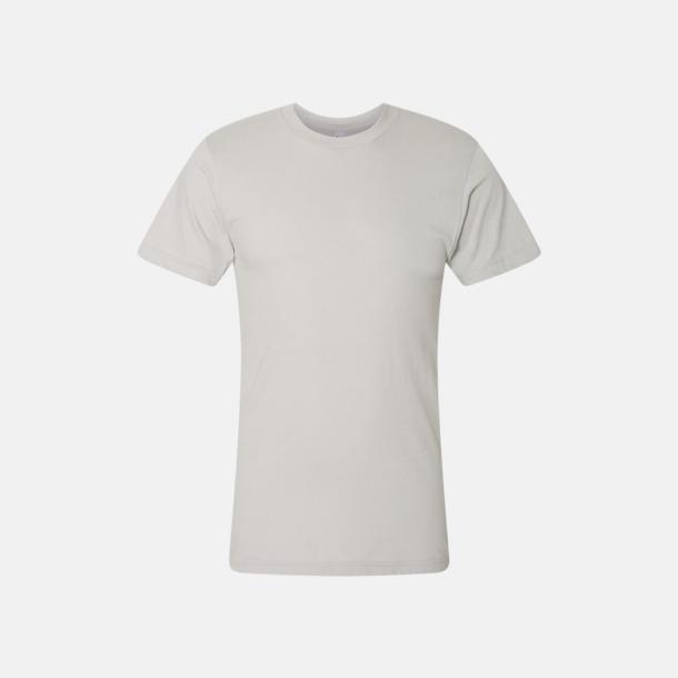 New Silver (unisex) Unisex & dam t-shirts med reklamtryck