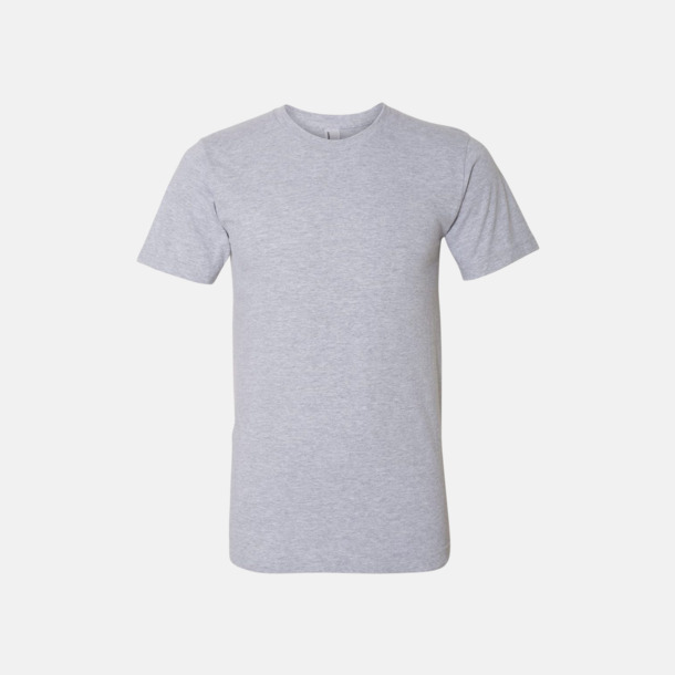 Heather Grey (unisex) Unisex & dam t-shirts med reklamtryck
