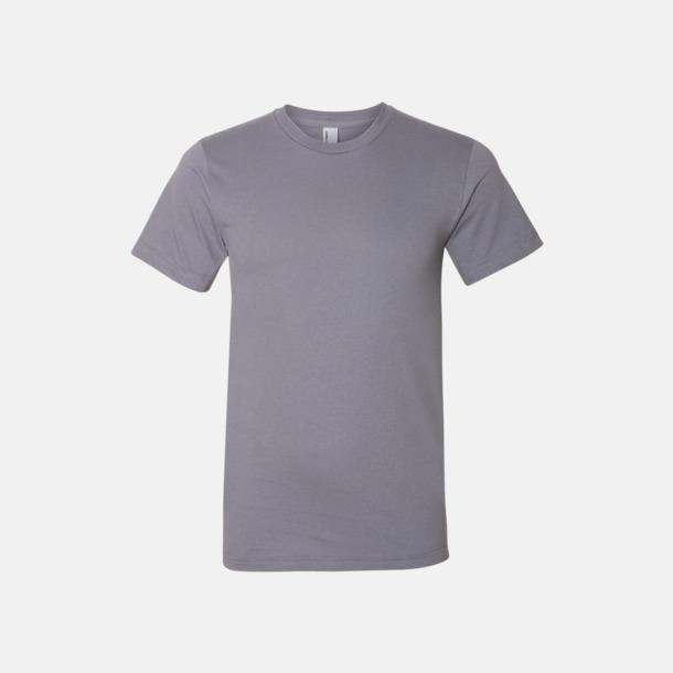 Slate (unisex) Unisex & dam t-shirts med reklamtryck
