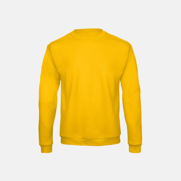 Gold Unisex sweatshirts med reklamtryck