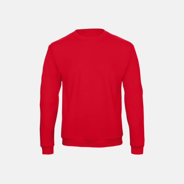 Pumpkin Orange Unisex sweatshirts med reklamtryck