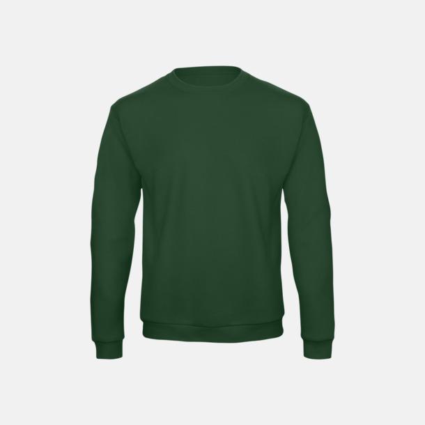 Bottle Green Unisex sweatshirts med reklamtryck