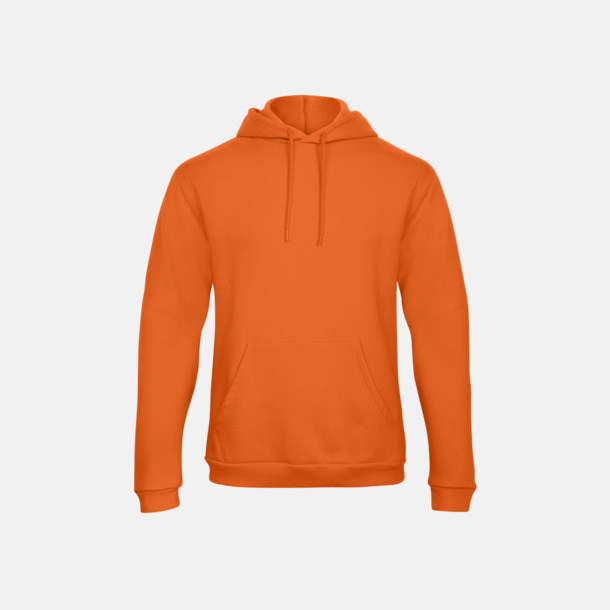 Pumpkin Orange Unisex luvtröjor med reklamtryck