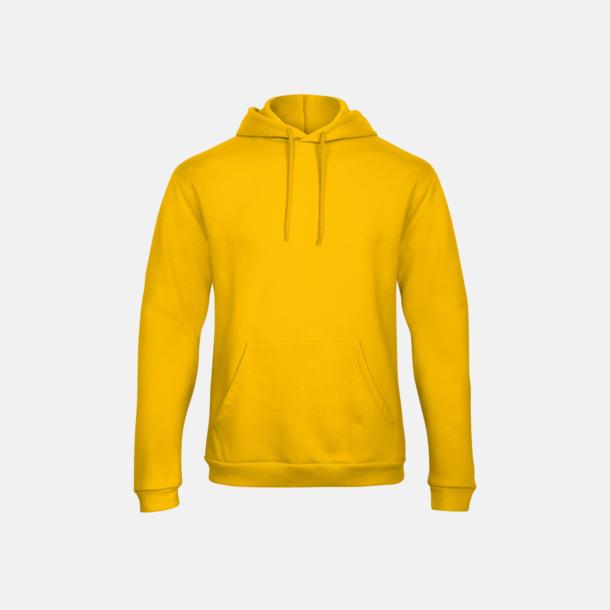 Gold Unisex luvtröjor med reklamtryck