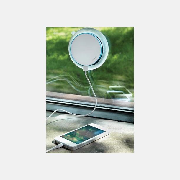 Solcellsladdare med inbyggd USB-portal att fästa på fönstret