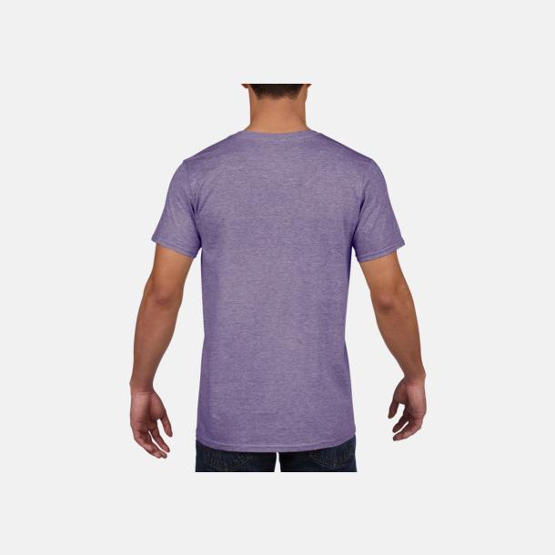 Billiga v-ringade t-shirts med reklamtryck