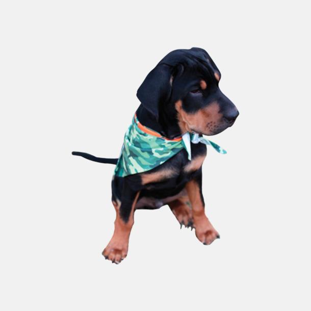 Bandanas för hundar - med reklamtryck