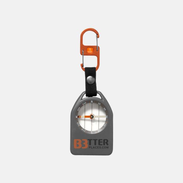 Med reklamlogo Kompass med visselpipa & termometer med reklamtryck
