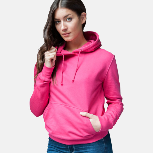 Billiga collegetröjor i unisexmodell - med tryck
