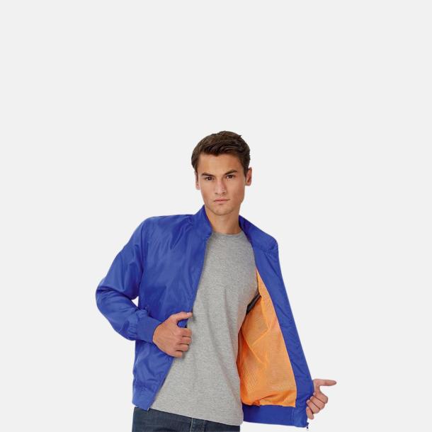 Vind- & vattentäta jackor med reklamtryck