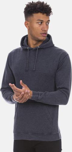 Urtvättade huvtröjor med reklamtryck