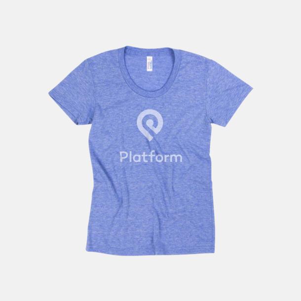 T-shirts i unisex- & dammodell med reklamtryck