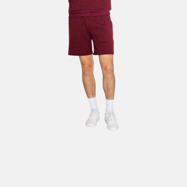 Salt & Pepper gym shorts med reklamtryck