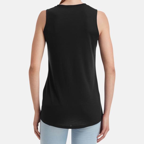 Stora, ärmlösa t-shirts med reklamtryck