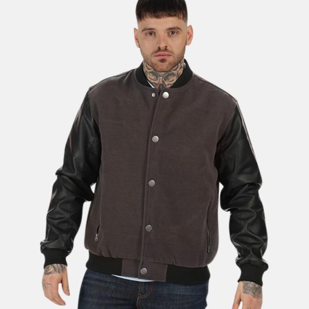 Moderna jackor med reklamtryck