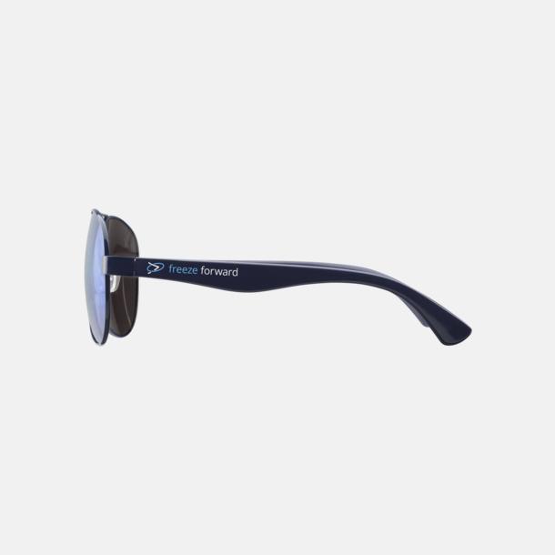 Tampotryck på solglasögon Spegelblanka solglasögon med reklamtryck
