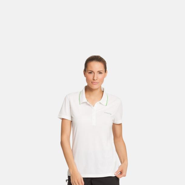 Pikétröjor från Craft i herr- och dammodell med reklamtryck