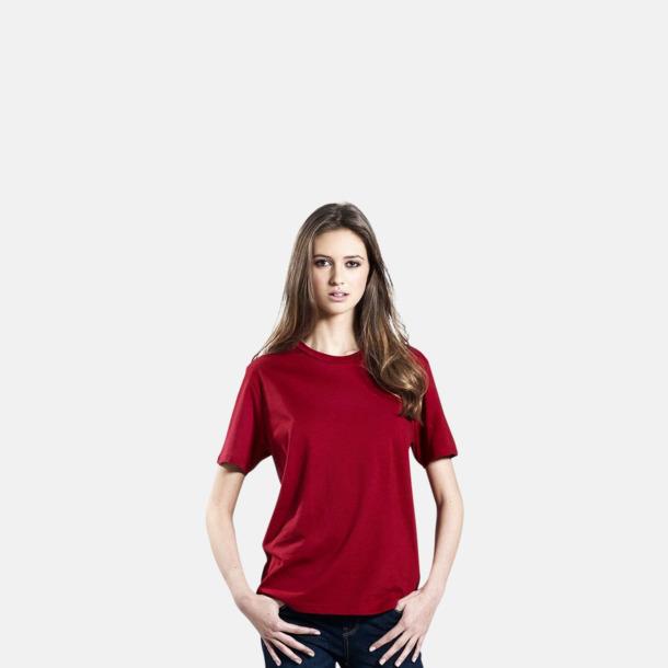 Unisexmodell (Röd) Eko t-shirts för vuxna & barn - med reklamtryck