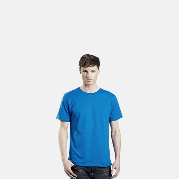 Unisexmodell (Bright Blue) Eko t-shirts för vuxna & barn - med reklamtryck