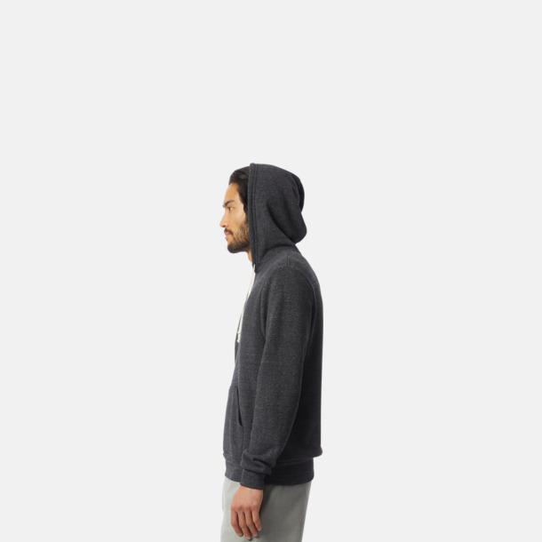 Miljövänliga unisex fleece hoodies med reklamtryck