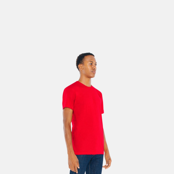 Polycotton t-shirts med reklamtryck