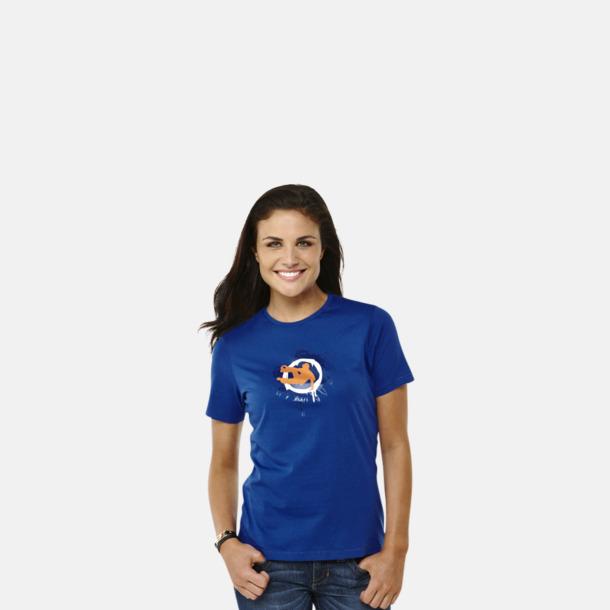 Bekväma t-shirts med reklamtryck