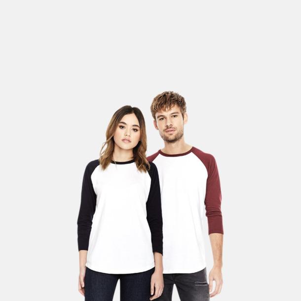 EkologiskBaseball T-shirt med eget reklamtryck