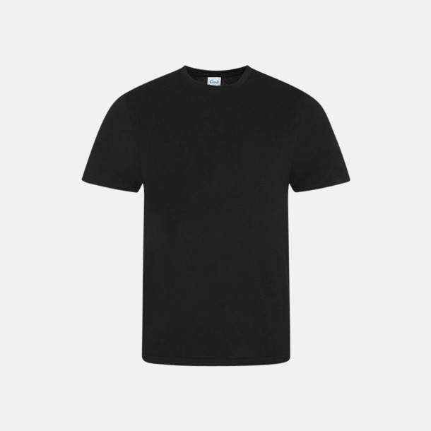 Svart (herr) Sov t-shirts med reklamtryck