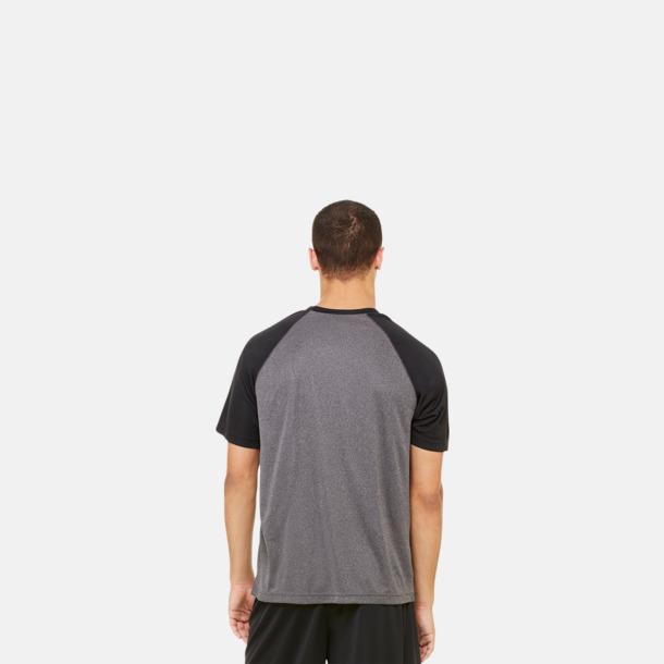 Unisex tränings t-shirts med reklamtryck