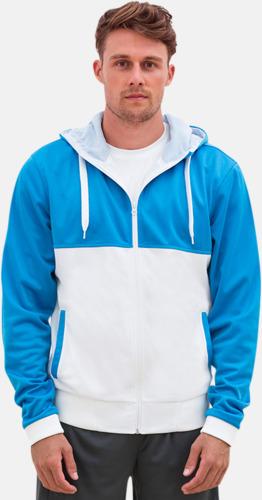 Flerfärgade huvudtröjor med reklamtryck