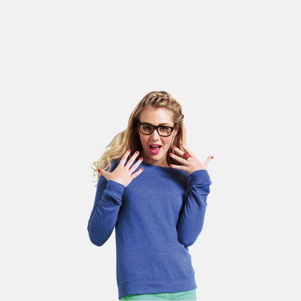 Heather tröjor i unisex- och dammodell med reklamtryck