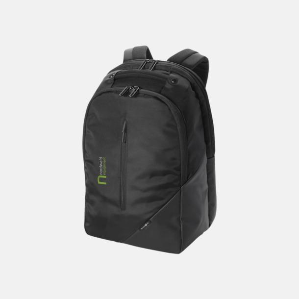 """Med reklamlogo Exklusiva 15,4"""" laptopryggsäckar med reklamtryck"""