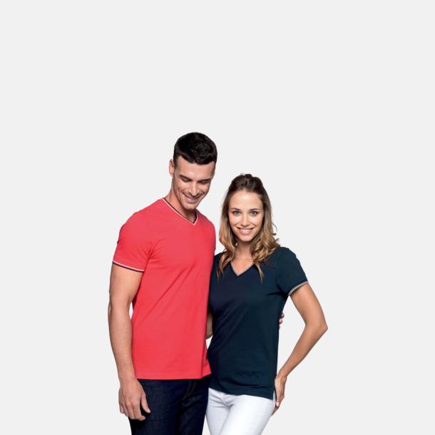 Unika bomulls t-shirts med reklamtryck