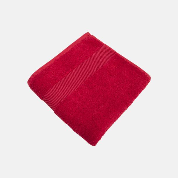 Jester Red Fina handdukar i 4 storlekar med reklamlogo