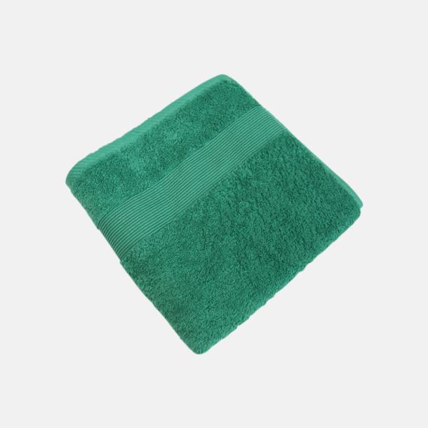 Rustical Green Fina handdukar i 4 storlekar med reklamlogo