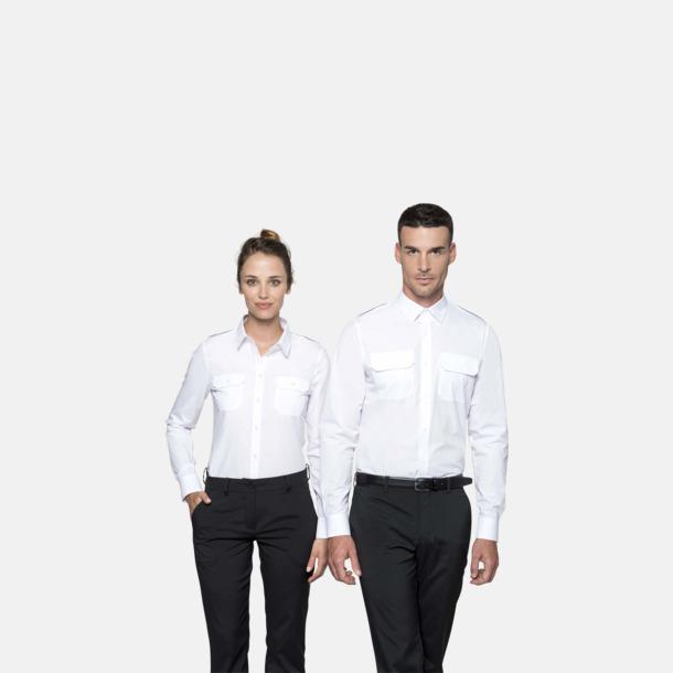 Lång- & kortärmade pilotskjortor med reklamtryck