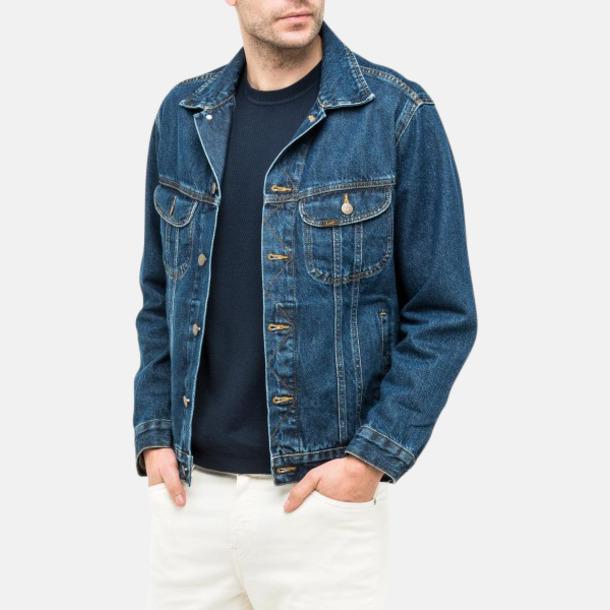 Lee jeansjackor med reklamlogo