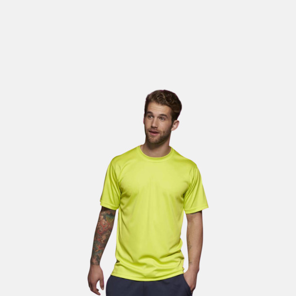 Funktions t-shirts i många färger - med reklamtryck