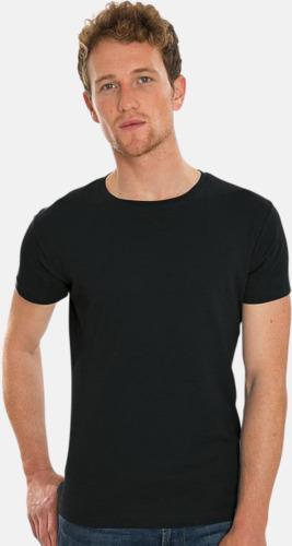 Extra mjuka eko t-shirts med reklamtryck