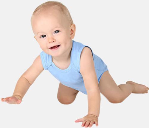 Ekologiska bodyvästar för bebisar med reklamtryck