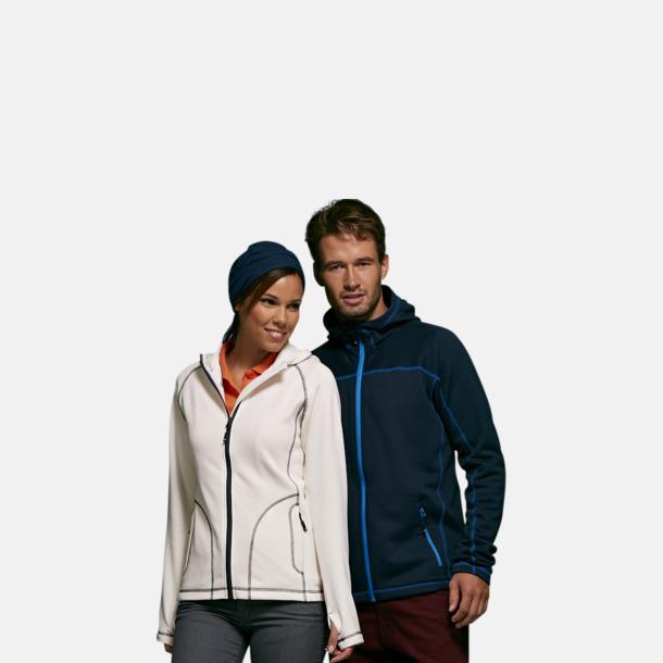 Figursydda herr- & damjackor i fleece med reklamlogo