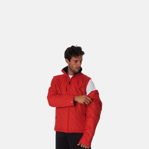 Jacka med avtagbara ärmar - med reklamtryck