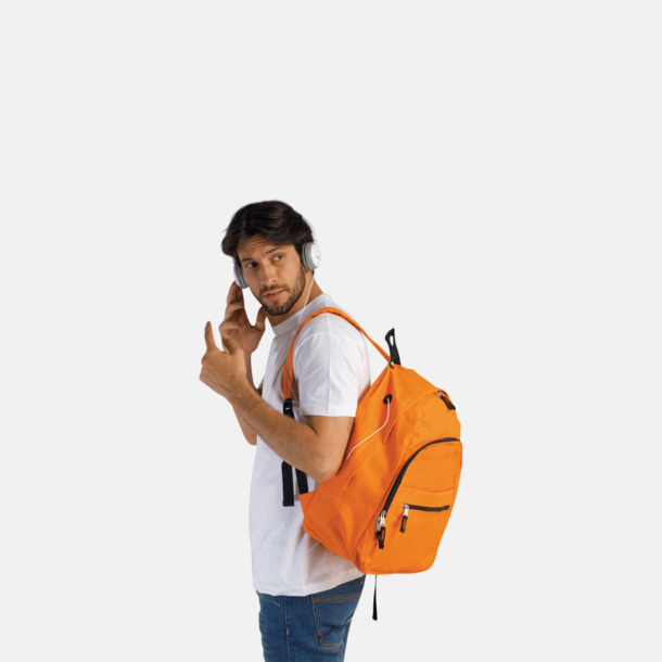Musikvänliga ryggsäckar med tryck eller brodyr