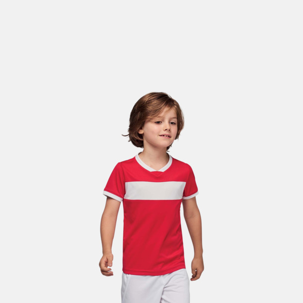 Lag t-shirts i funktionsmaterial med reklamtryck