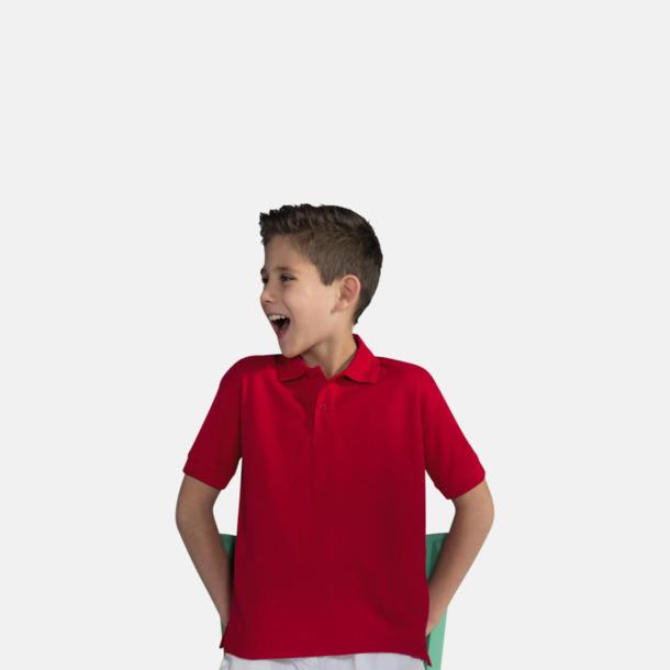Blended pikéer för herr, dam & barn med reklamtryck