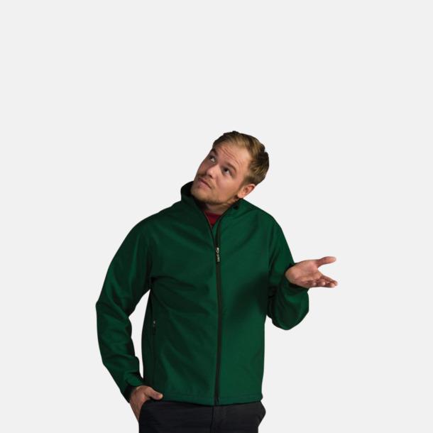 Soft shell-jackor för herr, dam & barn med reklamtryck