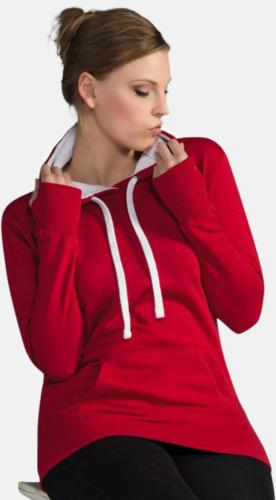2-färgade huvtröjor för herr, dam & barn med reklamtryck